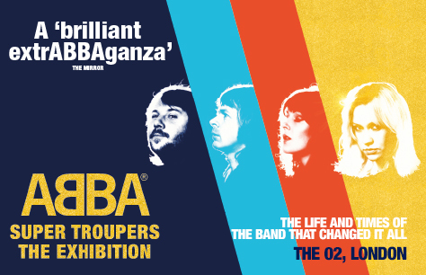 ABBA Super Troupers, show tile
