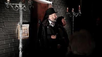 A Christmas Carol with Dinner by Natalie Coleman at Scrooges Parlour,London