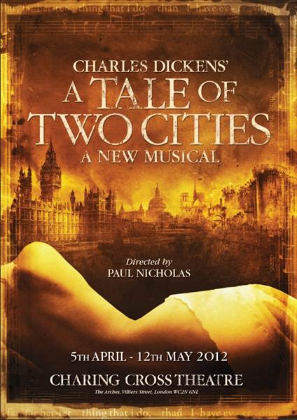 A Tale Of Two Cities Charing Cross Theatre