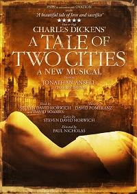 A Tale Of Two Cities at the Charing Cross Theatre London Tickets