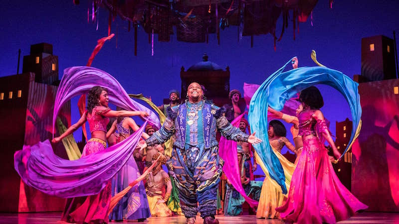 Aladdin At Prince Edward TheatreLondon