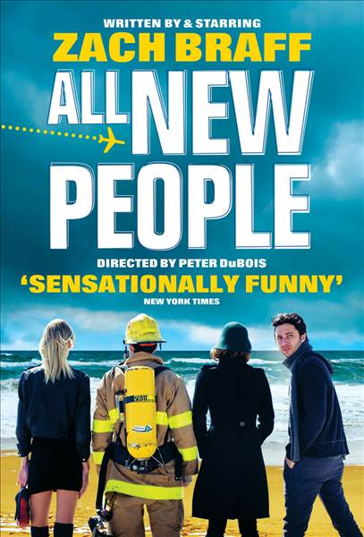 ZACH BRAFF hits the UK stage for the first time in All New People