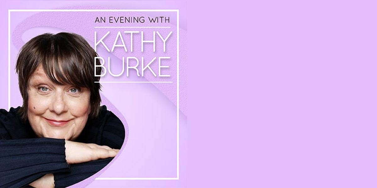 An Evening With Kathy Burke banner image