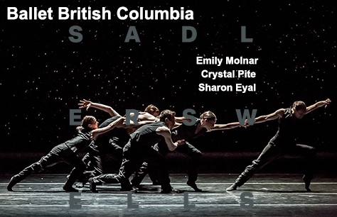 Ballet British Columbia: Emily Molnar/Crystal Pite/Sharon Eyal at Sadler's Wells, London