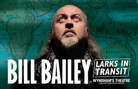 Bill Bailey: Larks In Transit tickets
