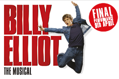 33rd Billy Elliot joins cast at Victoria Palace Theatre.