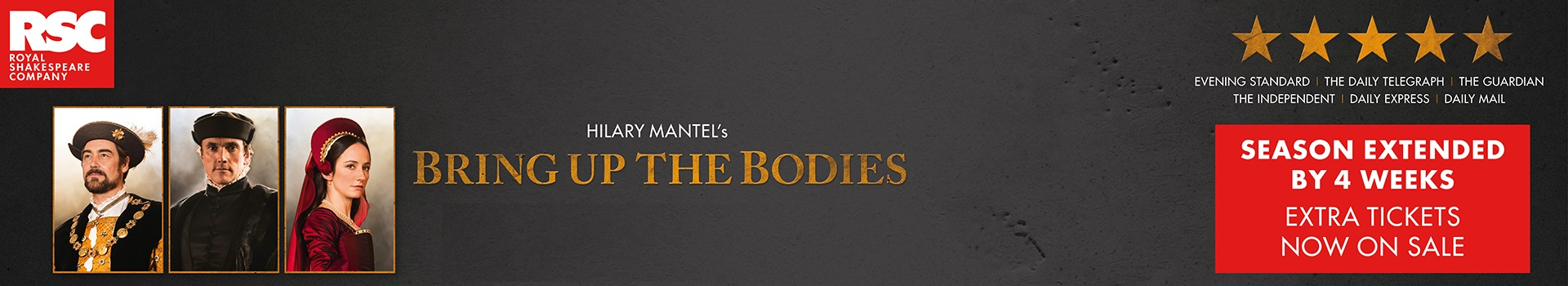 Bring Up The Bodies banner image