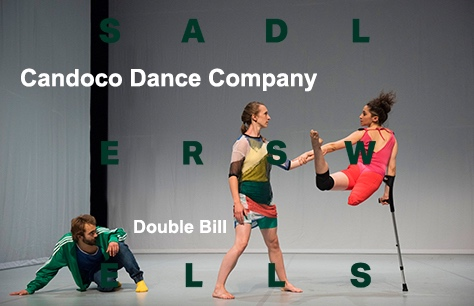 Candoco Dance Company: Double Bill at Sadler's Wells, London