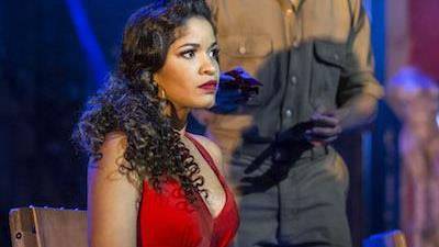 Carmen La Cubana at Sadler's Wells,London