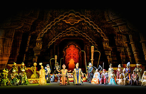 China National Traditional Orchestra - Xuanzang's Pilgrimage at Sadler's Wells, London