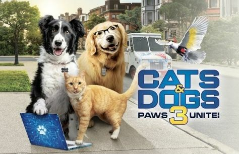 Cinema: Cats and Dogs 3: Paws Unite! Tickets