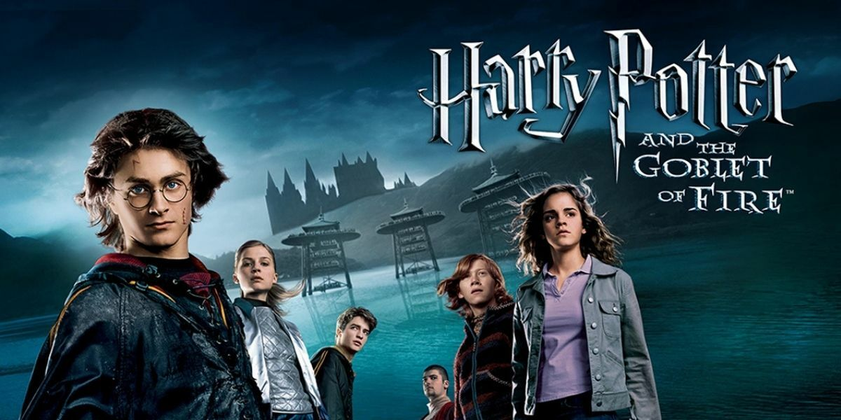 Cinema: Harry Potter and the Goblet of Fire banner image