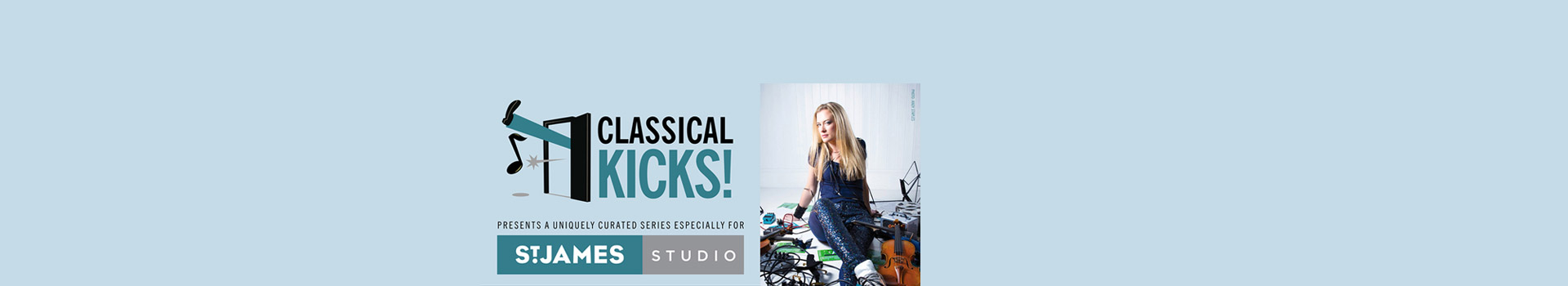 Classical Kicks: Rhapsody in Light Blue and The Great American Songbook banner image