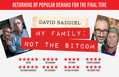 David Baddiel: My Family: Not The Sitcom tickets
