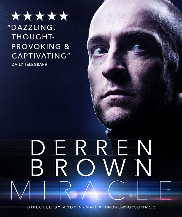 Derren Brown: Miracle at Palace Theatre London