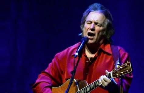 Don McLean at London Palladium, London