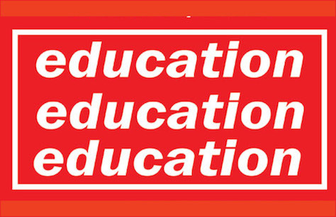 Education, Education, Education Tickets