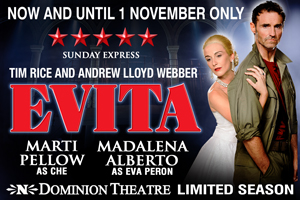 Evita Dominion Theatre Tickets