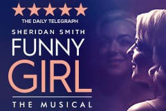 """Funny Girl at the Savoy Theatre Review: """"You can't help but fall head over heels"""" for Natasha J. Barnes"""