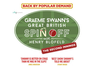 Graeme Swann's Great British Spin Off with Henry Blofeld – The Second Innings