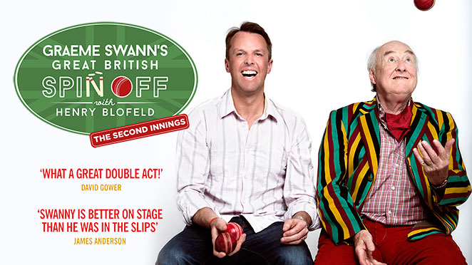 Graeme Swann's Great British Spin Off with Henry Blofeld – The Second Innings tickets