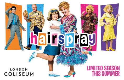 Les Dennis replaces Paul Merton in London's Hairspray