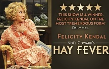 HAYFEVER RECEIVES RAVE REVIEWS AT THE NOEL COWARD THEATRE