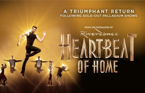 Heartbeat Of Home tickets at Piccadilly Theatre and Dinner at Farzi Cafe