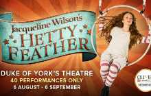 Hetty Feather tickets London