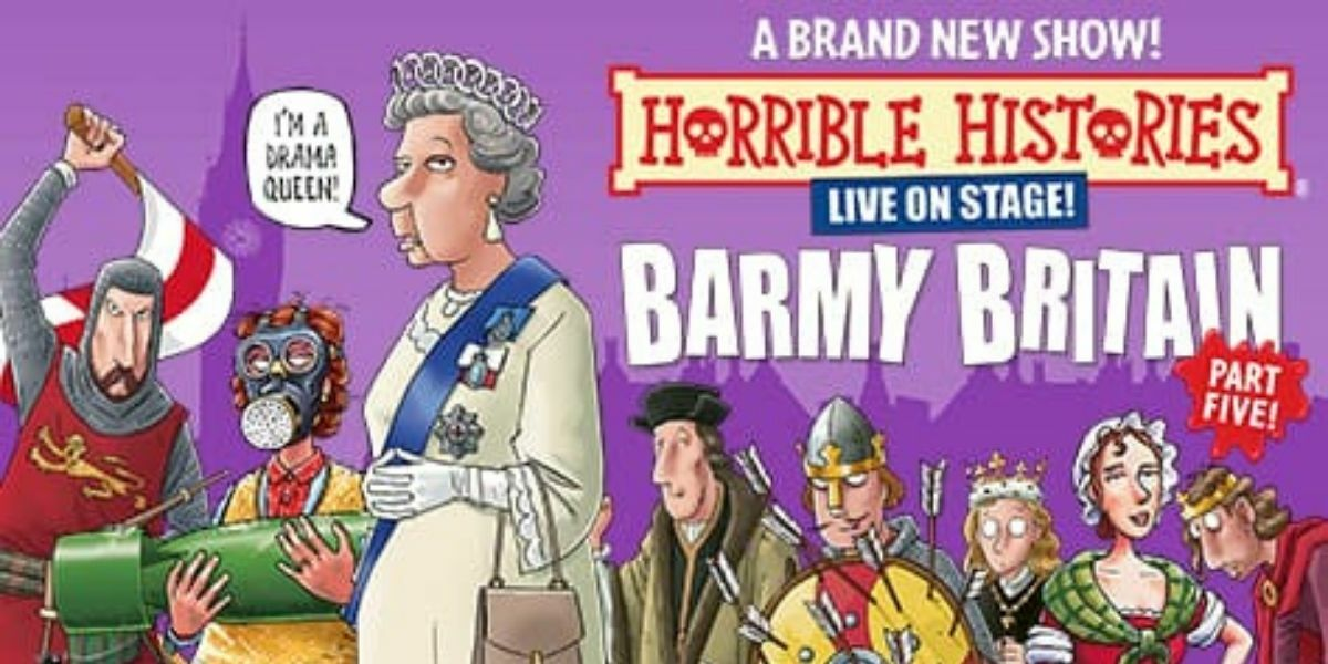Horrible Histories: Barmy Britain - Part Five! banner image