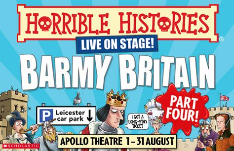 Horrible Histories: Barmy Britain - Part Four! Tickets