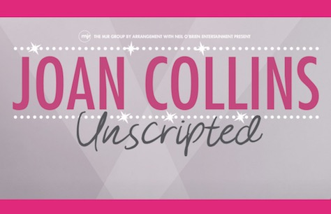 Joan Collins Unscripted Tickets