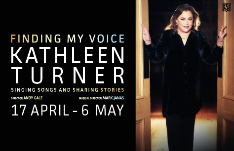 Kathleen Turner: Finding My Voice Tickets