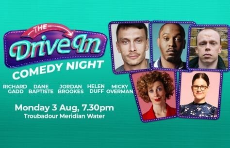 LIVE: The Drive In Comedy Night - 3rd August Tickets