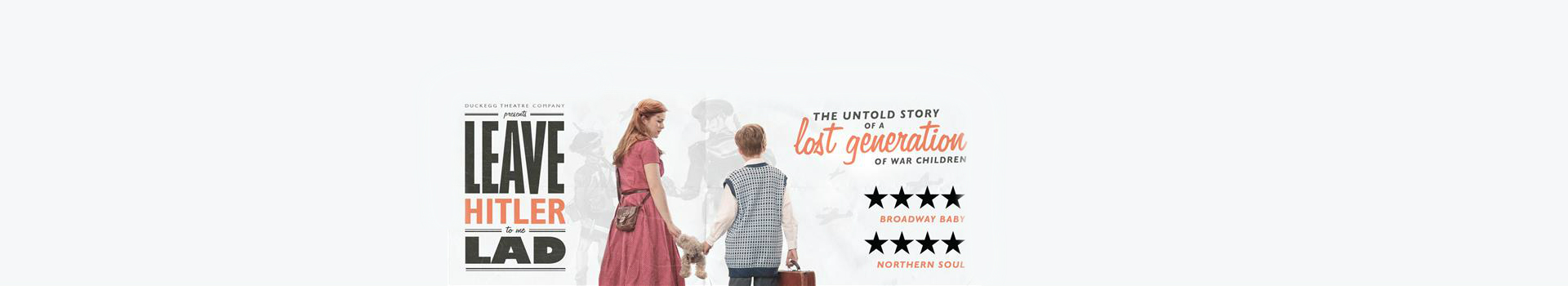 Leave Hitler To Me, Lad tickets London Arts Theatre