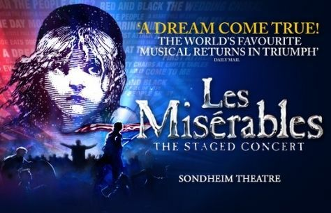 Full cast announced for Les Misérables The Staged Concert