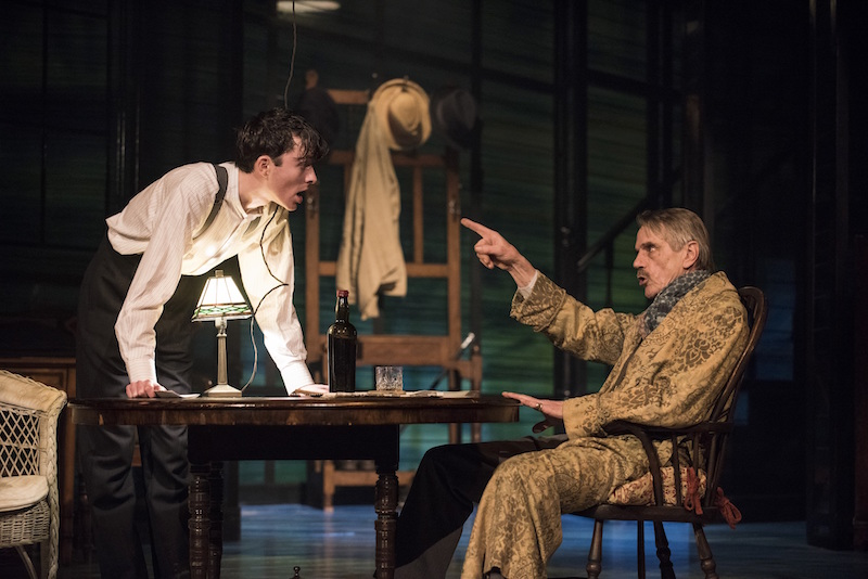 Long Day's Journey Into Night at Wyndhams Theatre starring Lesley Manville and Jeremy Irons