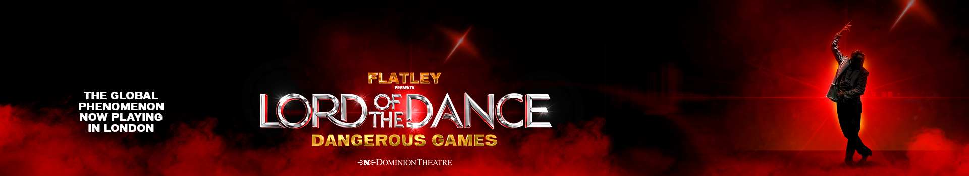 Lord of the Dance: Dangerous Games tickets London Dominion Theatre