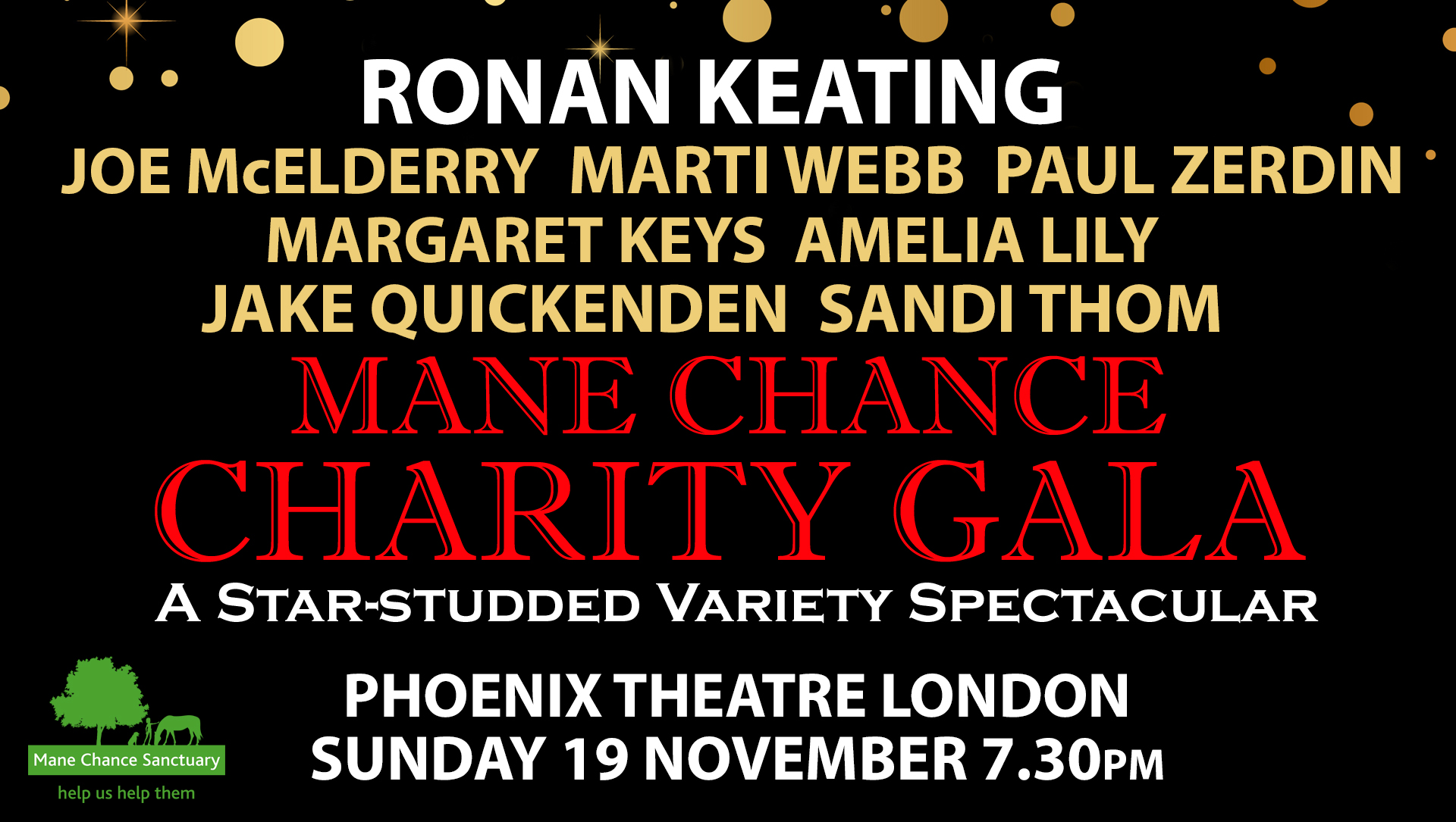 Mane Chance West End Charity Gala