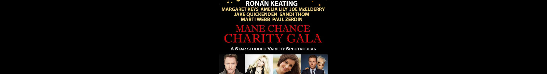 Mane Chance West End Charity Gala tickets