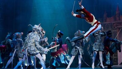 Nutcracker at London Coliseum,London