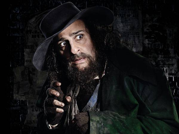 Omid Djalili as Fagin in Oliver!
