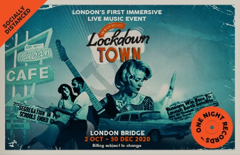 One Night Records present: Lockdown Town