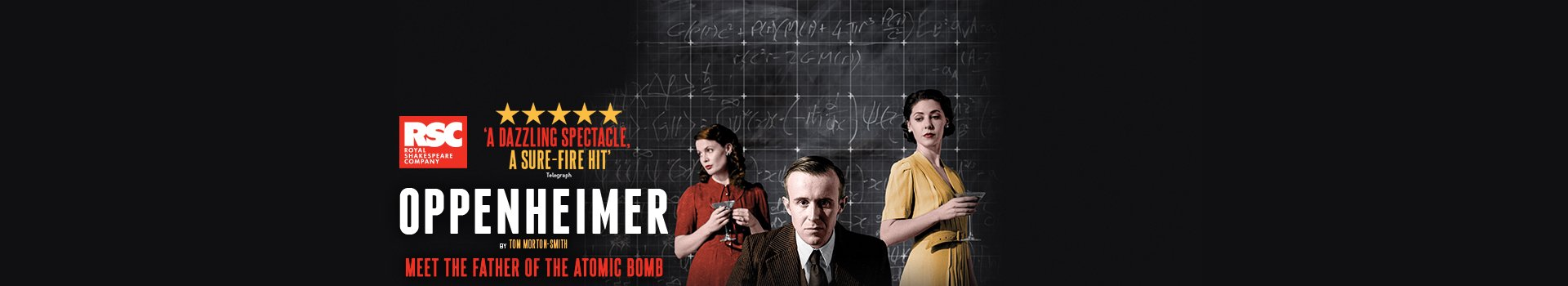 Oppenheimer tickets London Vaudeville Theatre