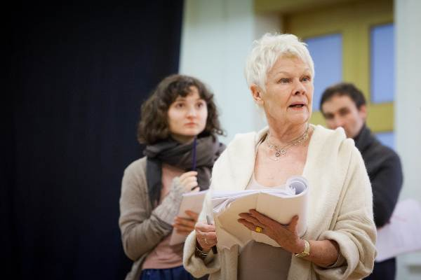 Judi Dench in Peter And Alice