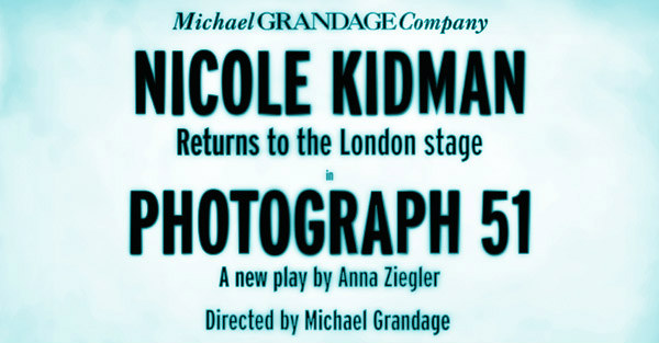 Nicole Kidman stars in Photograph 51 at the Noel Coward Theatre