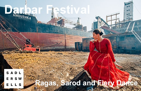Ragas, Sarod and Fiery Dance - Darbar Festival 2017