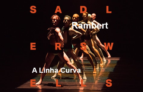 Rambert - A Linha Curva, and other works at Sadler's Wells, London