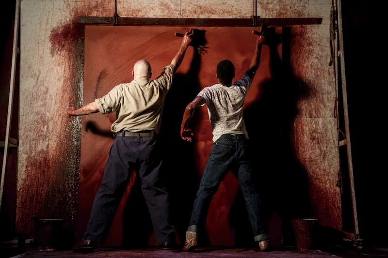 Red starring Alfred Enoch and Alfred Molina now playing at the Wyndham's Theatre