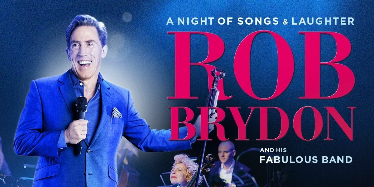 Rob Brydon – A Night of Songs & Laughter banner image